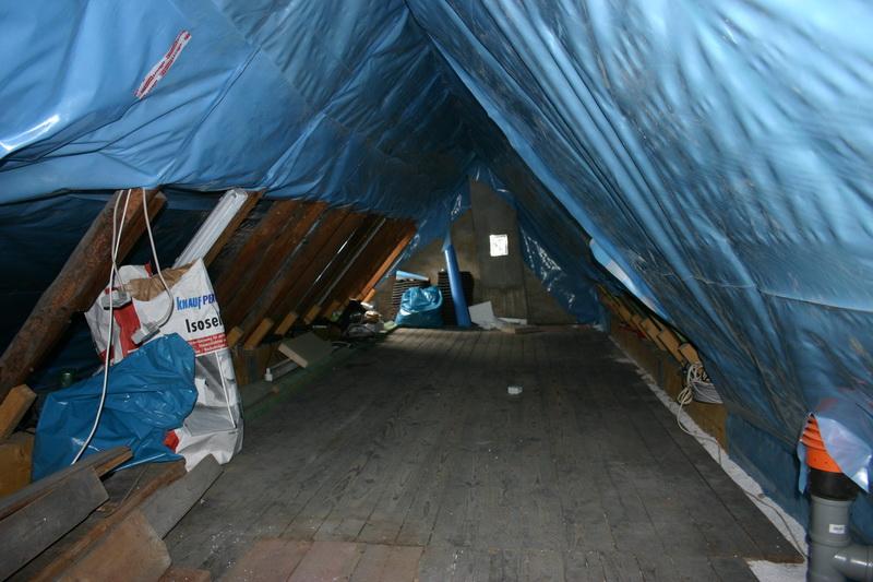 energetische sanierung eines dachbodens eine gute d mmmung spart energie. Black Bedroom Furniture Sets. Home Design Ideas